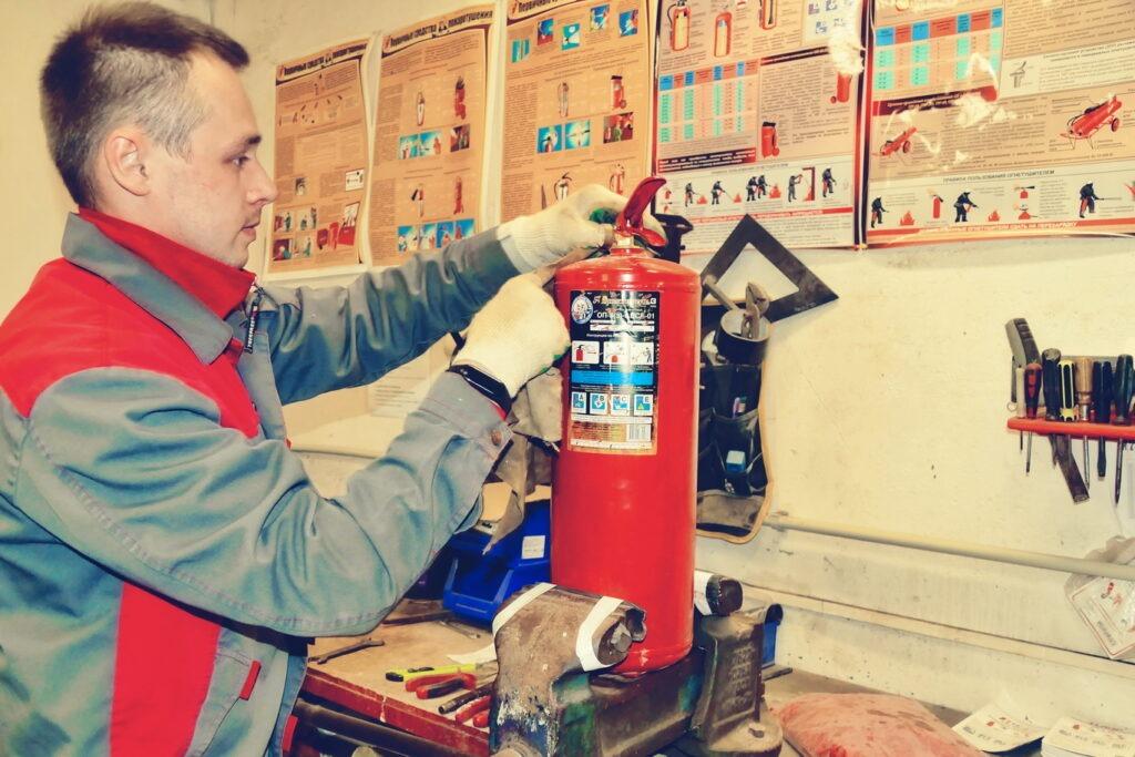 Зарядчик огнетушителей, Зарядчик огнетушителей курсы, Зарядчик огнетушителей обучение
